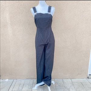 NWT forever 21 charcoal jumpsuit size small